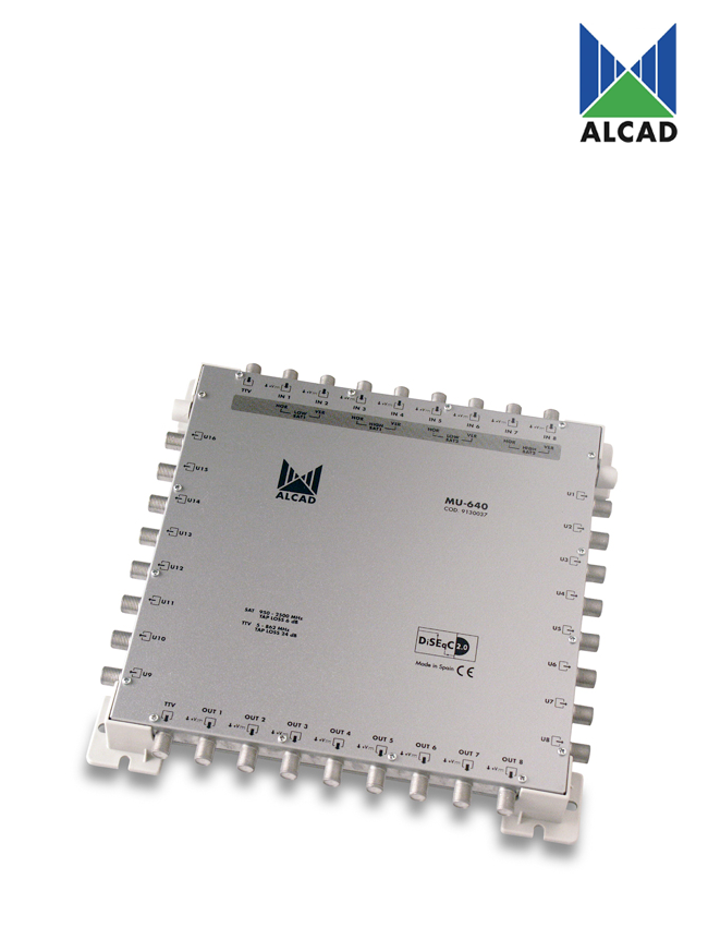 Alcad MU-640 Multiswitch